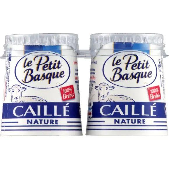 Pack de 4 yaourts Le Petit Basque Caillé Brebis