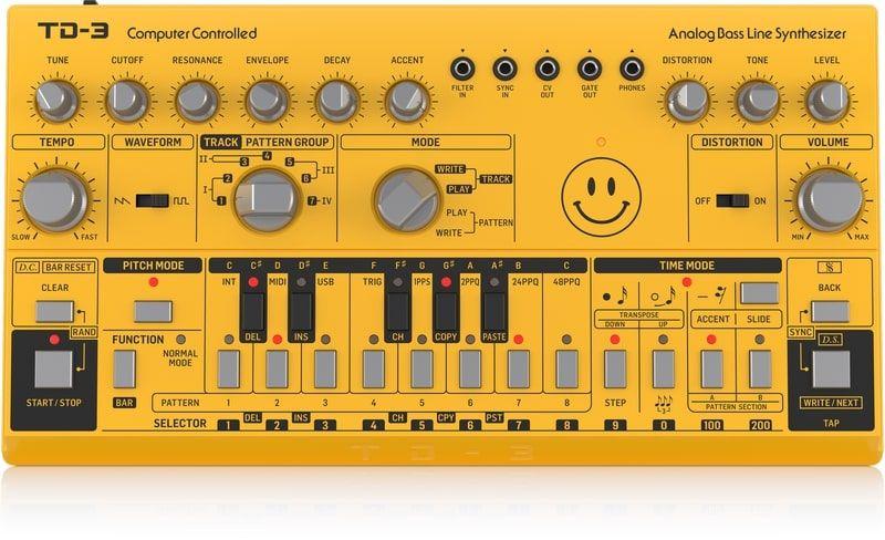 Synthétiseur de ligne de basses Behringer td-3