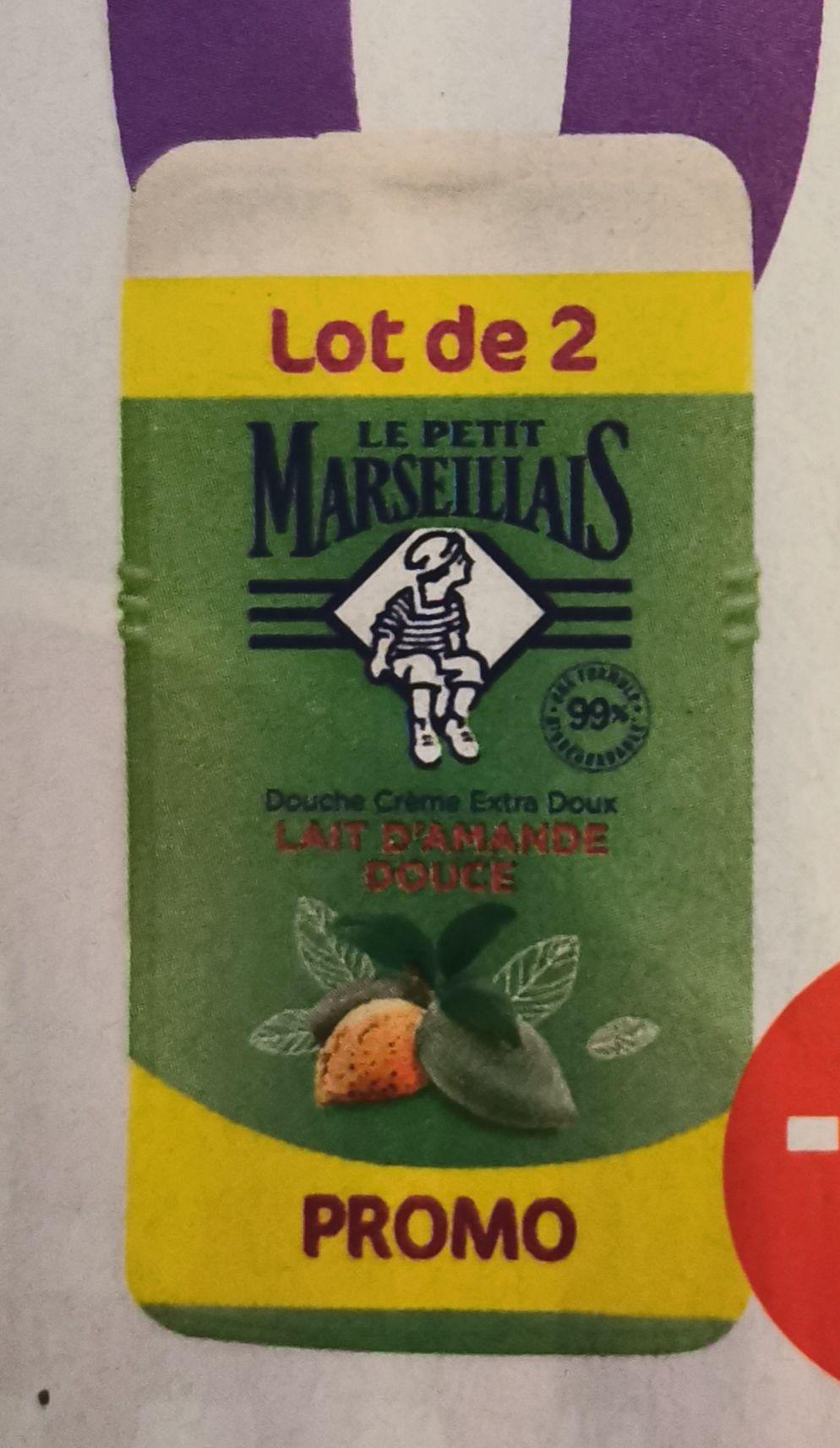 Lot de 2 gels douche Le Petit Marseillais - 2 x 250ml, différentes variétés (via 1.34€ sur la carte de fidélité)