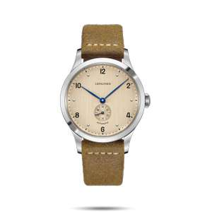 Sélection d'articles en promotion - Ex: Montre Automatique Longines Heritage 1945 L2.813.4.66.0 - 40mm (lepage.fr)