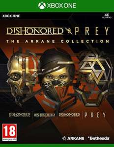 Dishonored & Prey: The Arkane Collection sur Xbox One & S/X