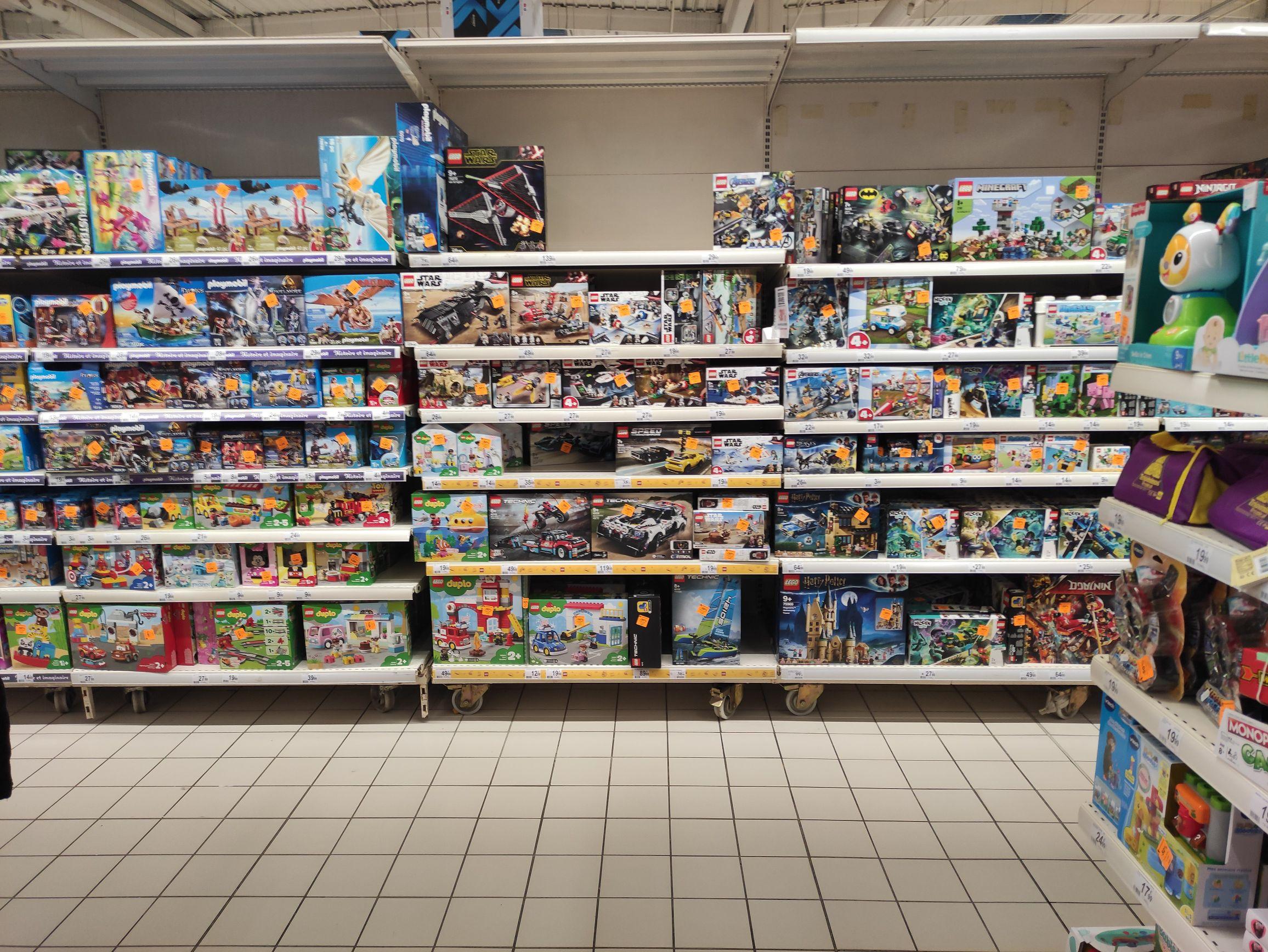 30% de remise sur le Rayon Lego et Playmobil (Schweighouse 67)