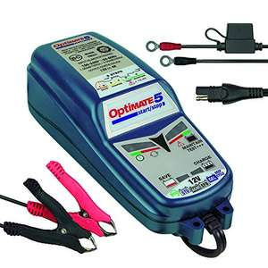 Chargeur moto Optimate TM220-4A - 12 V, 4A