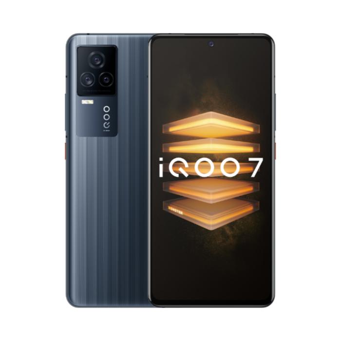 "Smartphone 6.62"" Vivo IQOO 7 5G - 8Go RAM, 128Go ROM, FHD+, Snapdragon 888, 120W, Android 11 - Noir"