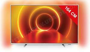 """TV LED 65"""" Philips 65PUS7855 - 4K UHD, HDR 10+, Dolby Vision, Ambilight, Smart TV"""
