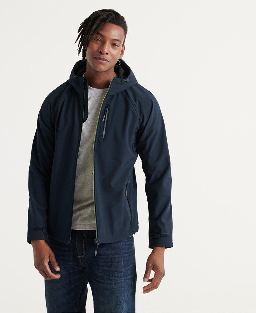 Veste à capuche Superdry Softshell - Bleu, Toutes tailles