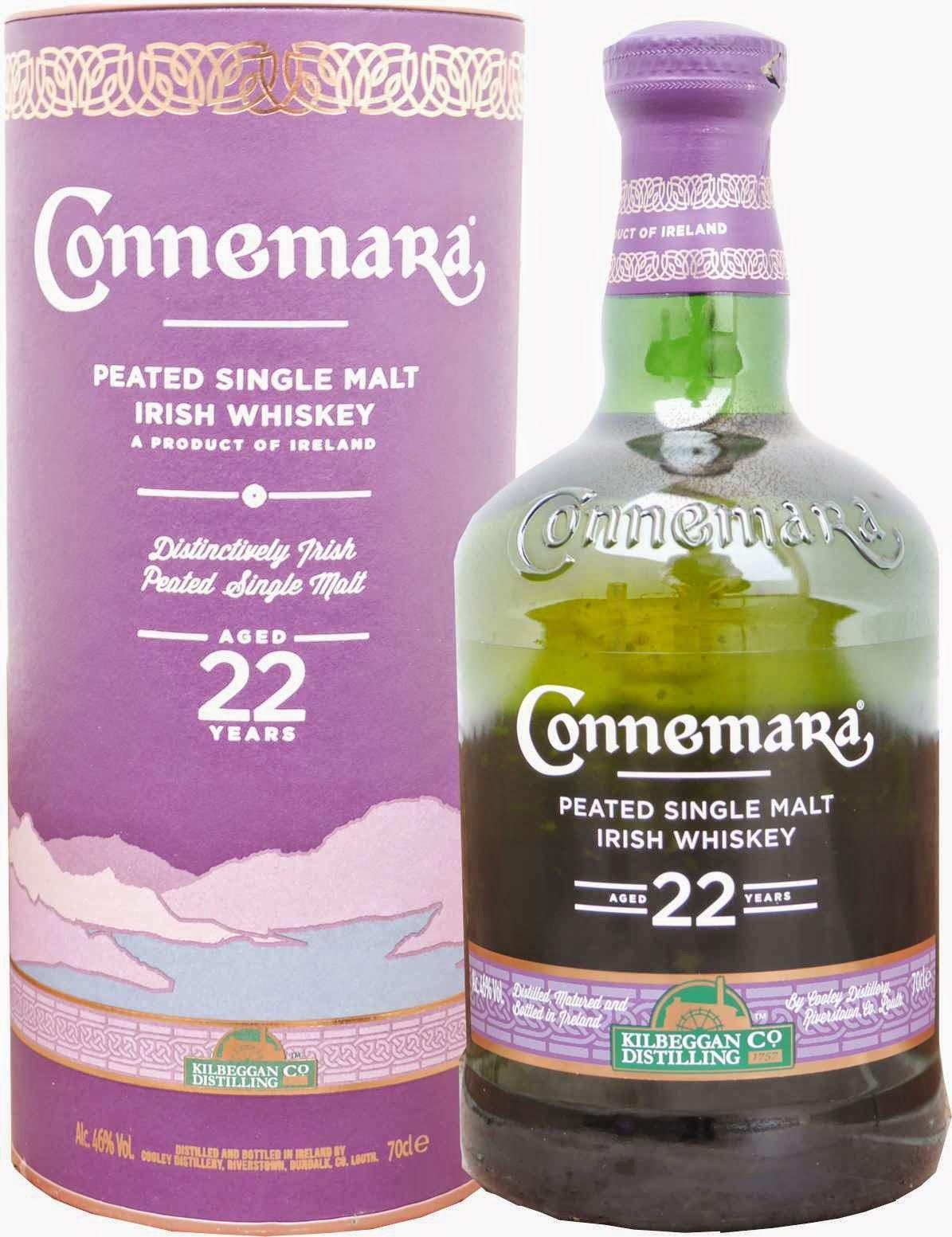 Whisky Irlandais Connemara 22 ans d'âge