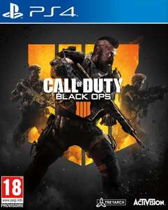 Call of Duty Black Ops IIII sur PS4 ou Xbox One