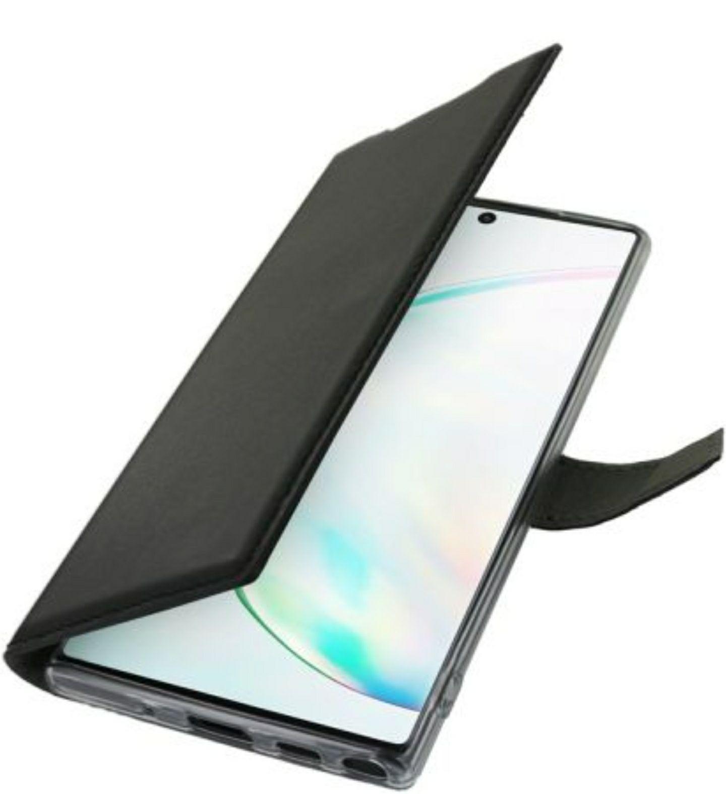 Sélection d'étuis à 1€ - Ex: Etui Adeqwat Samsung Note 10 Cuir noir