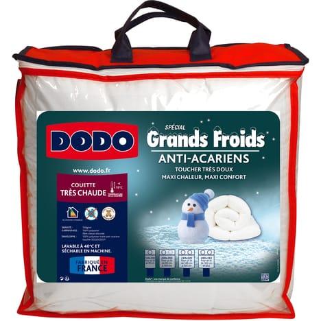 Couette très chaude anti-acariens Dodo Spécial Grand Froids 260 x 240 cm