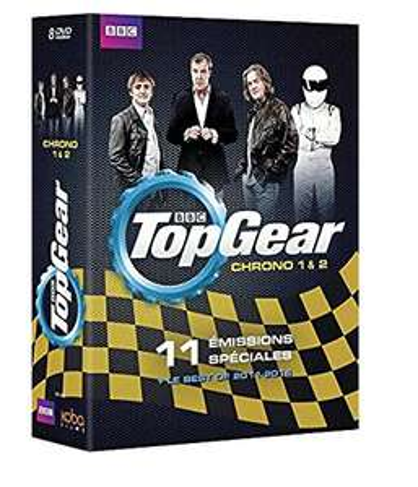 Coffret 8 DVD : Top gear Volumes 1 & 2