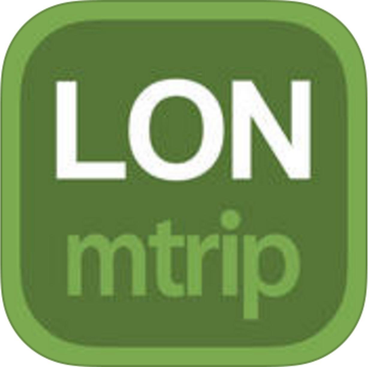Guides de voyage mTrip Londres (avec carte offline) gratuit sur iOS (au lieu de 4.99€)