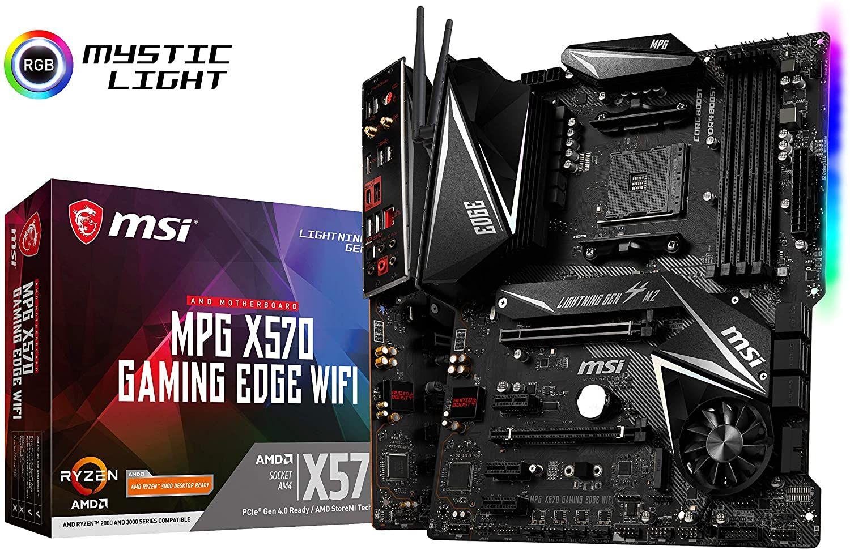 Carte mère MSI MPG X570 Gaming Edge WiFi (Prise AM4/X570/DDR4/S-ATA 600/ATX)