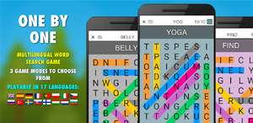 Jeu One By One PRO - Recherche de mots multilingues Prémium (Sans Publicité) gratuit sur Android