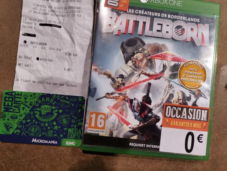 Jeu Battleborn (Occasion) gratuit sur PS4 ou Xbox One (Béthune La Rotonde 62)