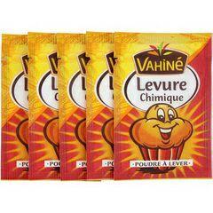 Sélection d'optimisations sur des produits de la marque  Vahiné - Ex : 3 Lots de 5 sachets de Levure chimique - 5x11g gratuits (via BDR)