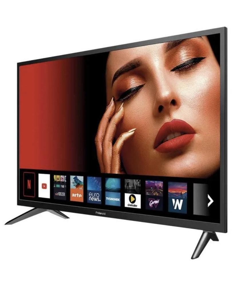 TV LED 32'' Polaroid - WiFi, Netflix