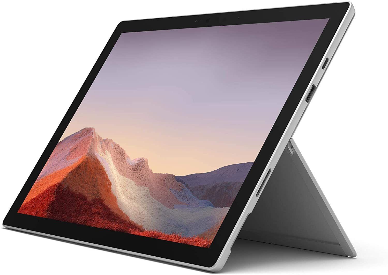 "PC Hybride 12,3"" Microsoft Surface Pro 7 - Core i5, RAM 8Go, Stockage 128Go SSD, Platine"