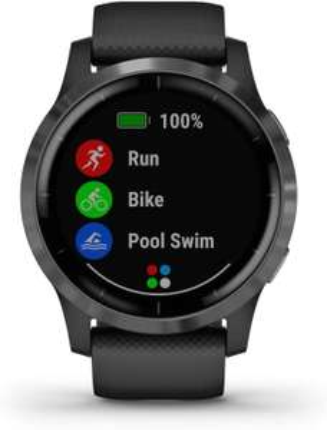 Montre connectée GPS Garmin Vivoactive 4 Black/Gunmetal (via ODR de 50€)