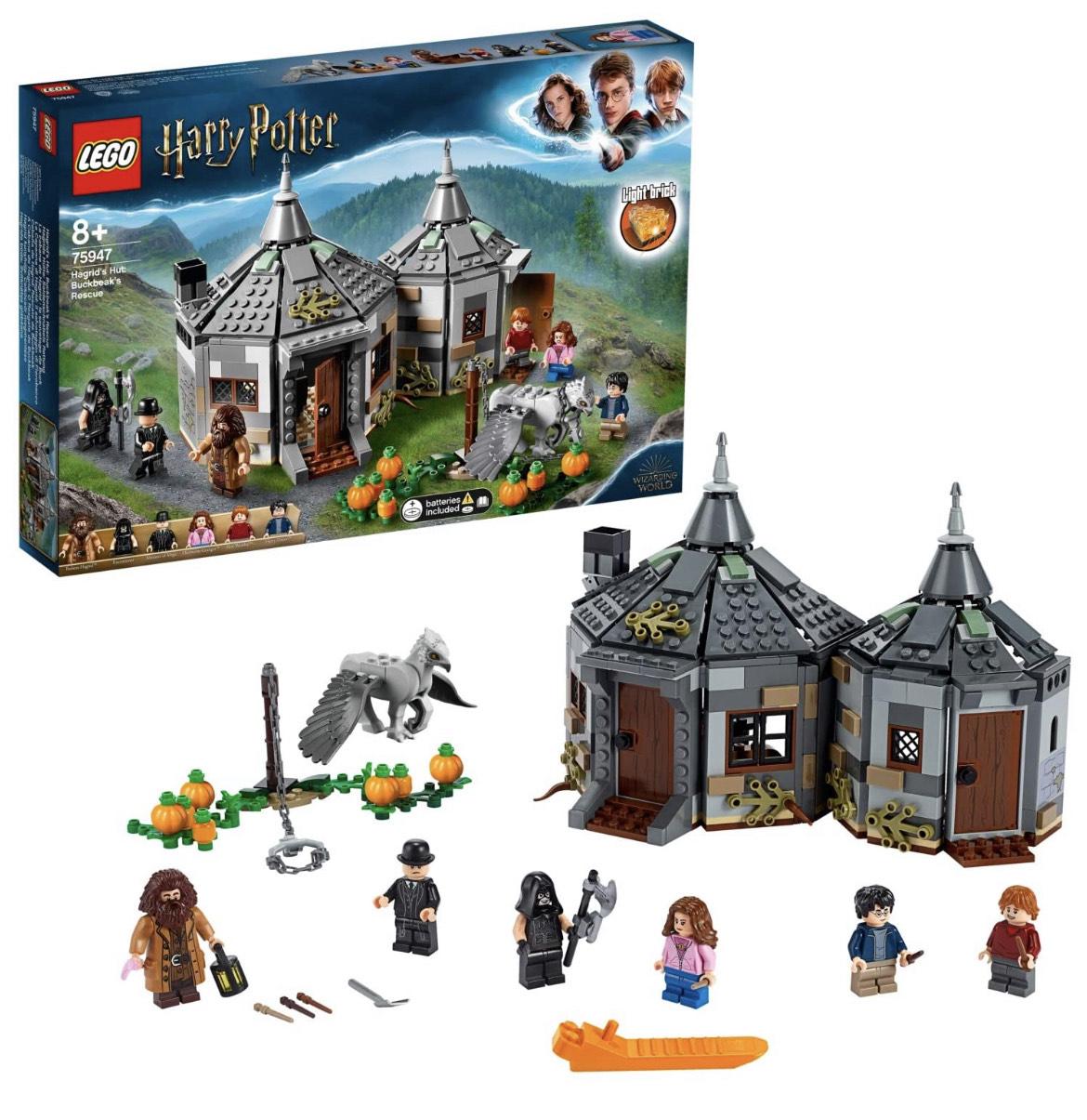 Jeu de construction Lego Harry Potter (75947) - La Cabane de Hagrid : Le Sauvetage de Buck