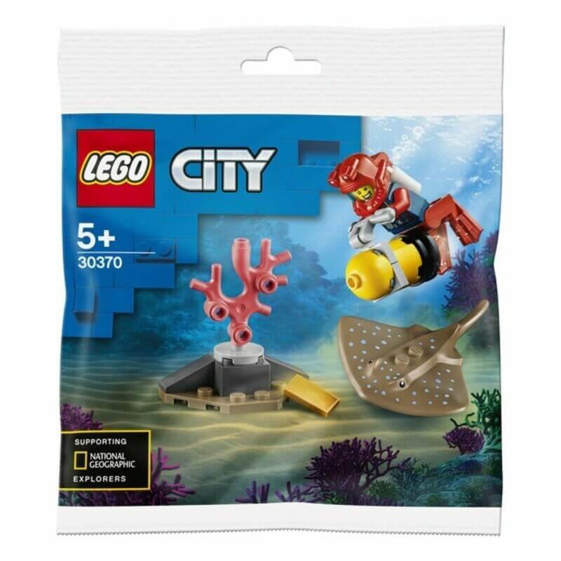 Polybag Plongeur océanique Lego City 30370 offert dès 20€ d'achat sur les articles Lego City