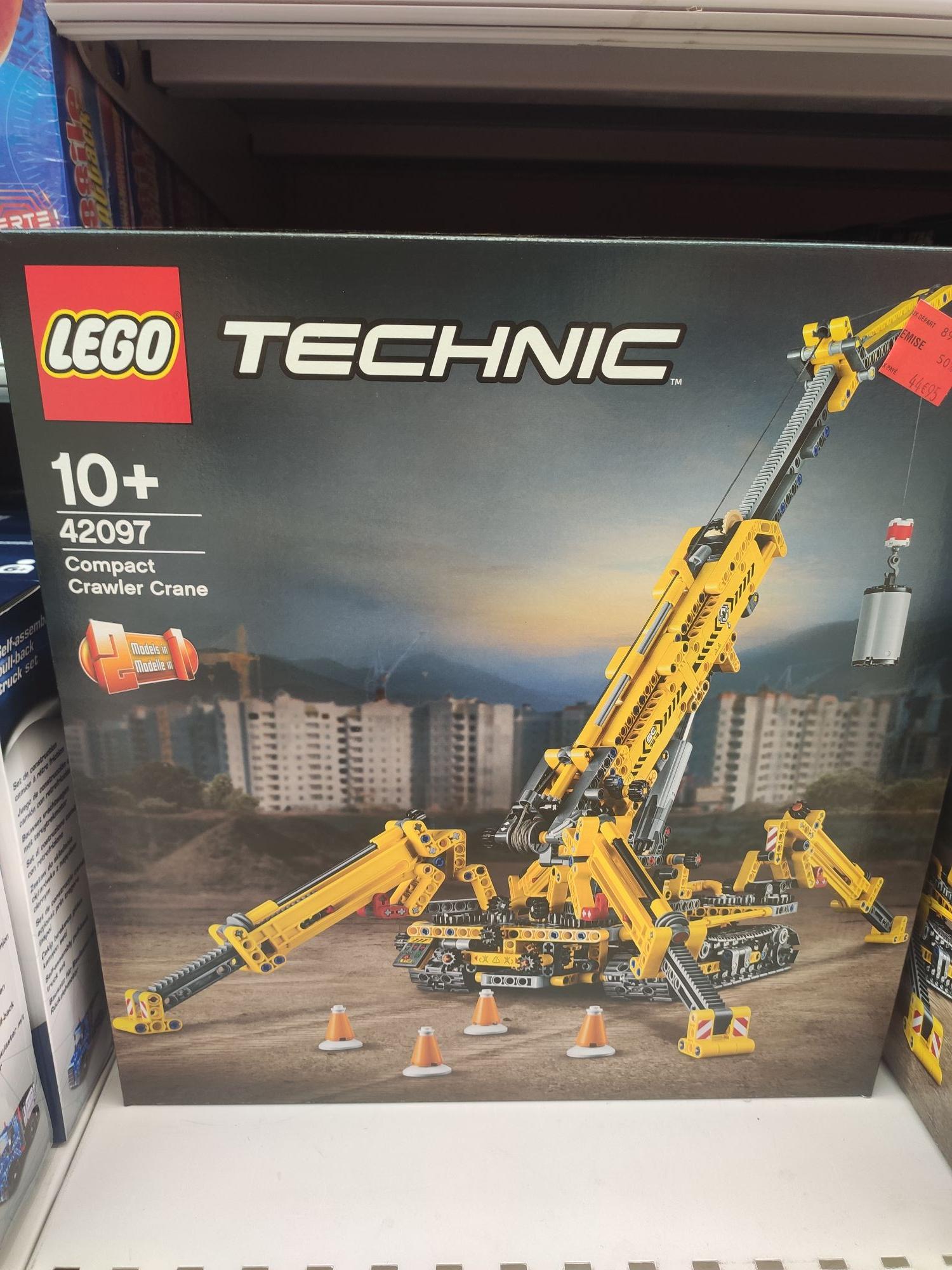 Sélection de Lego en promotion - Ex: Jouet Lego Technic 42097 Compact Crawler Crane (via 22.47€ sur la carte) - Nantes (44)