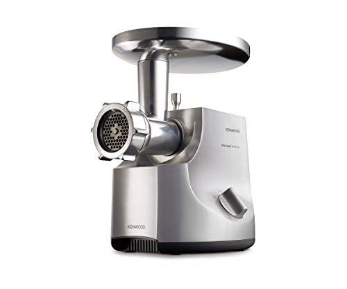 Hachoir à Viande Electrique Kenwood MG700 - Semi- Pro, Puissance 2000 W, Inox Brossé