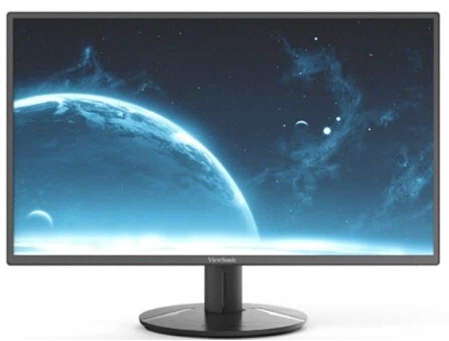 "Ecran PC 24"" Viewsonic VA2418-SH - fHD , Dalle IPS (Via retrait magasin)"