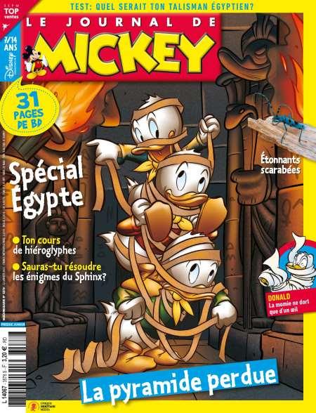 Abonnement au journal de Mickey - 7 Mois (30 numéros) + édition numérique offerte