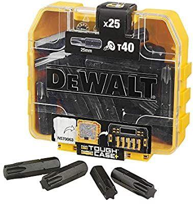 Boîte d'embouts Impact Torsion Dewalt DT70559T-QZ - 25 x T40 25mm