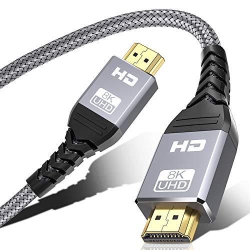 Câble HDMI 2.1 - 3 mètres, 8K@60Hz (Vendeur tiers)