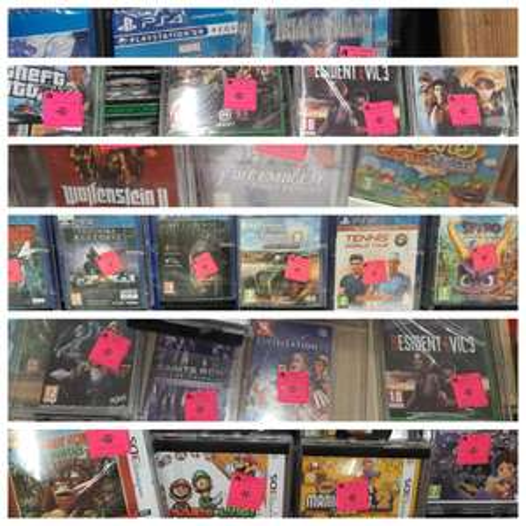 Sélection de jeux vidéo en promotion - Ex : Resident Evil 3 sur Xbox One à 20€ - Auchan Sarcelles (95)