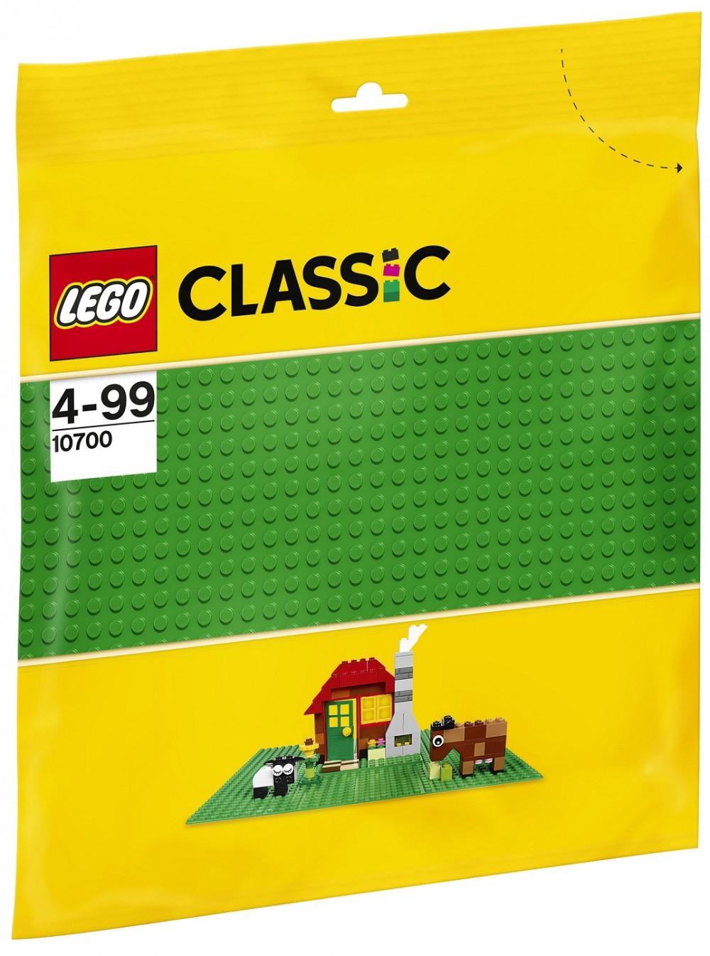 Plaque verte Classic 10700 offerte dès 19€ d'achat dans la gamme Lego