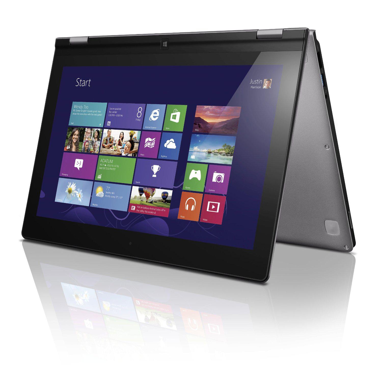 "PC Portable hybride 11,6"" Lenovo YOGA 11 - 64 Go Nvidia Tegra Windows RT Wifi avec ODR (100€)"