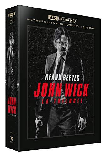 Blu-Ray John Wick-La Trilogie - 4K Ultra HD