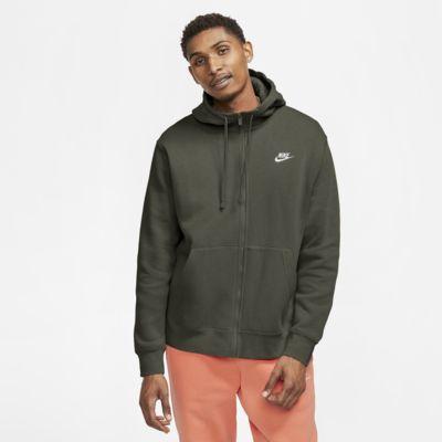 Sweat-shirt à capuche zippé Nike Sportswear Club Fleece (du XS au XXL)