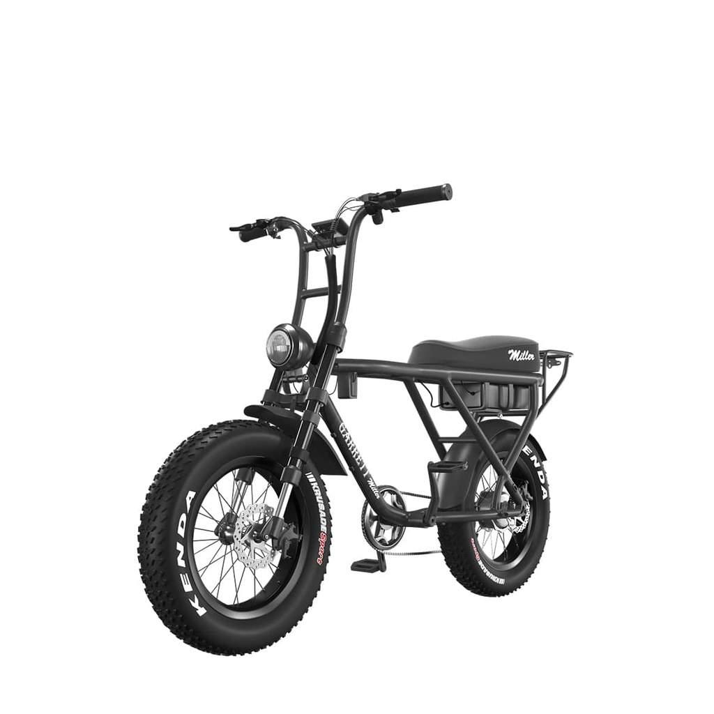 Vélo électrique Garrett Miller X - Gris Anthracite ou Noir (wee-bot.com)