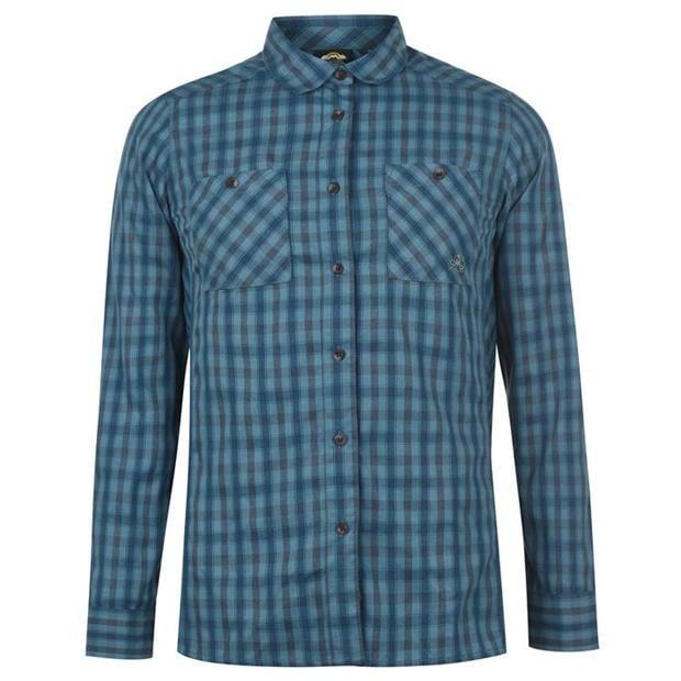 Sélection de Chemises Eastern Mountain Sports à 0,59€ - Ex : Chemise Tech Flannel Shirt - Bleu (Livraison comprise)