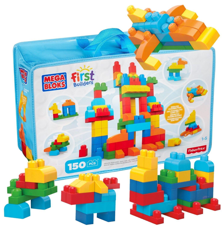 Sac Mega Bloks de 150 pièces First Builders