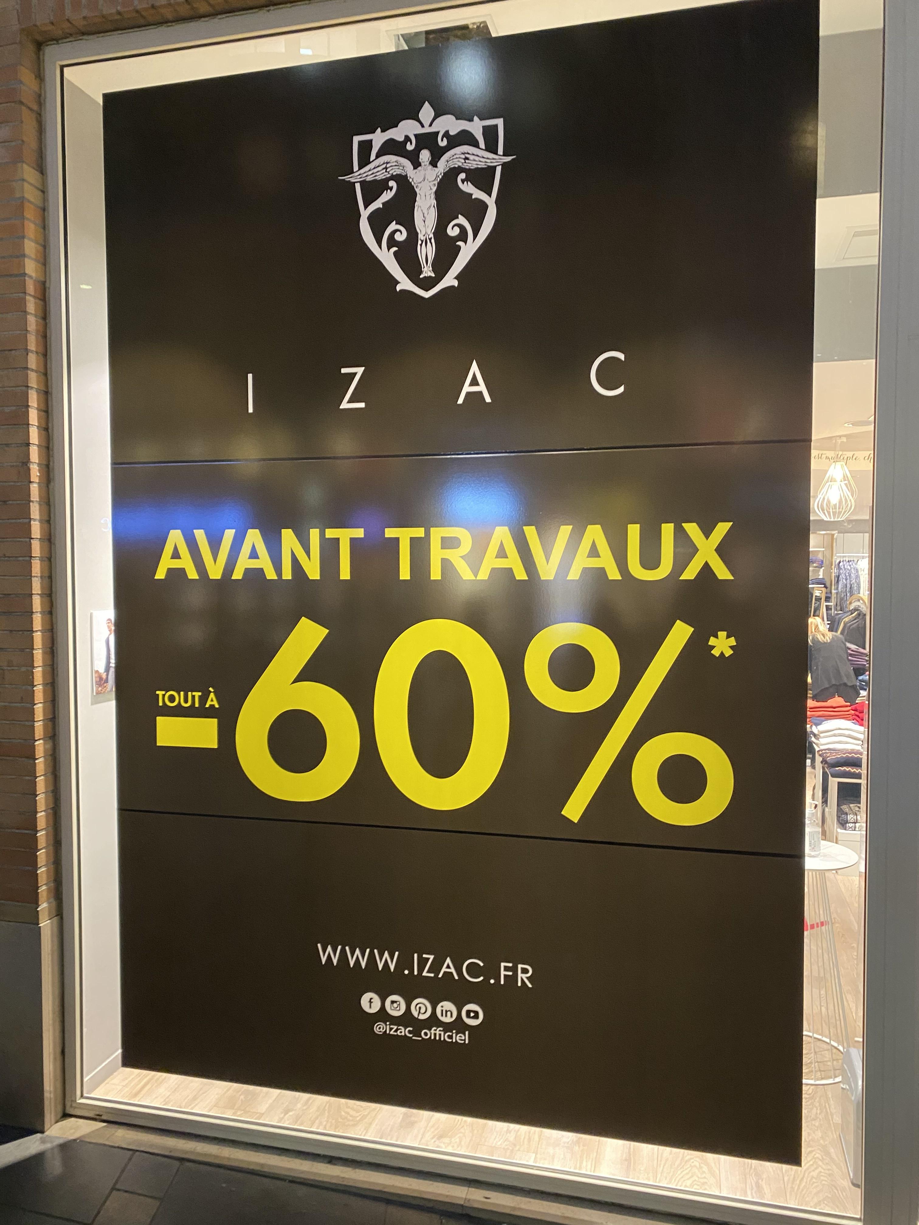 -60% sur tout le magasin - Toulouse (31)