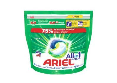 Lot de 40 capsules de lessive Ariel Pods - Différentes Variétés (via BDR)