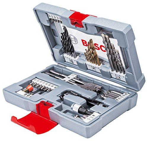 Coffret accessoires perçage vissage Bosch Premium - 49 pièces
