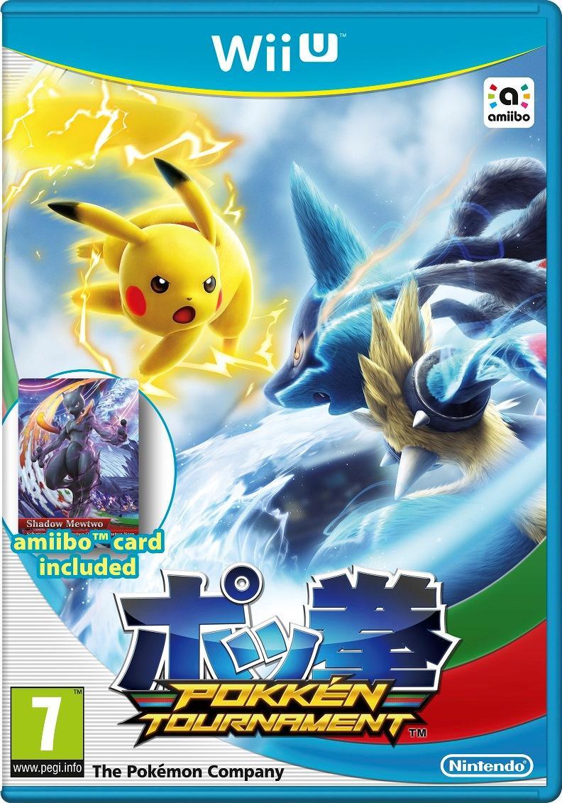 [Précommande] Pokkén Tournament + 1 carte Amiibo sur Wii U