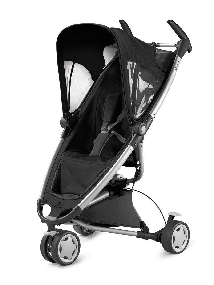 Poussette Quinny Zapp Travel System (Noire) Maxi Cosy (Bébé confort)