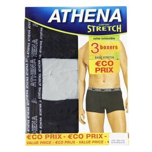 3 Boxers athéna strech
