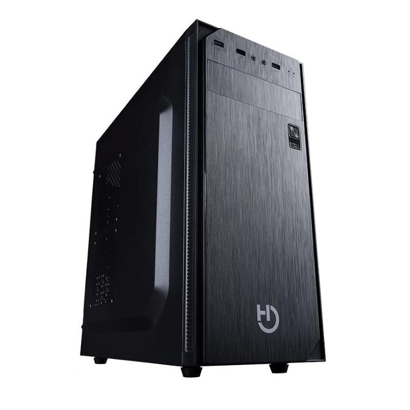 PC de bureau PowerBASIC T-800 - Ryzen 5 3400G (4x3.7GHz), RAM 8 Go, 240 Go SSD, Radeon Vega 11, Alim 500W