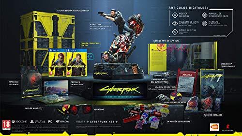 Cyberpunk 2077 - Edition Collector sur PS4 (MàJ PS5 incluse)