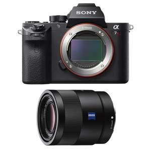 Appareil Photo Hybride Sony Alpha A7 III + Objectif focale fixe Sony Carl Zeiss Sonnar T FE 55 mm f/1.8 ZA (+230€ sur le Compte Adhérent)