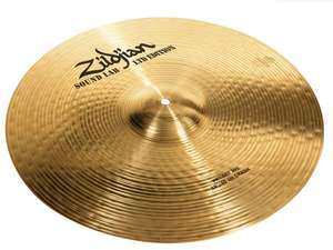 "Cymbale crash 18"" Zildjian Project 391 + Casque AKG K402"