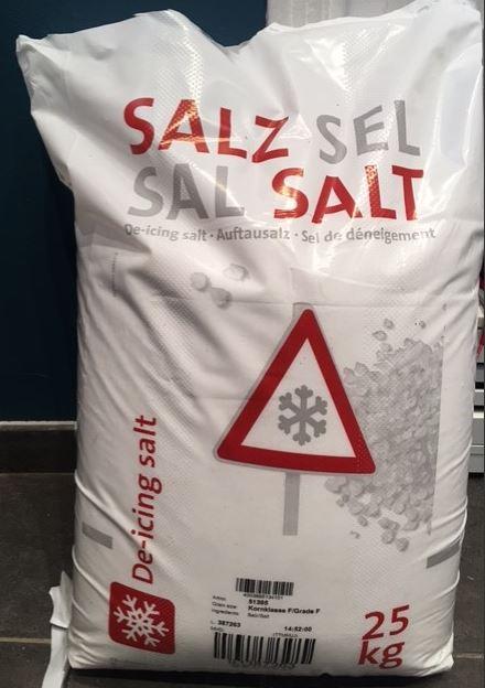 Sac de Sel de déneigement - 25kg (Lomme 59)